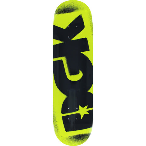 "8.25"" DGK Florescent Logo Yellow Skateboard"