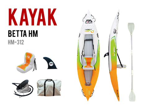 BETTA HM-K0 Leisure Kayak-1 person