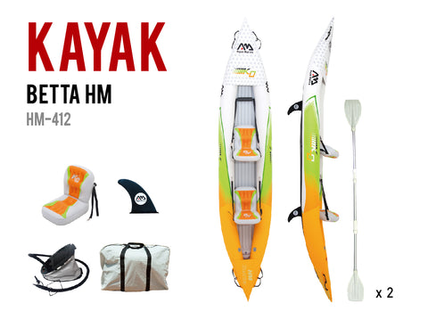BETTA HM-K0 Leisure Kayak- 2 Person