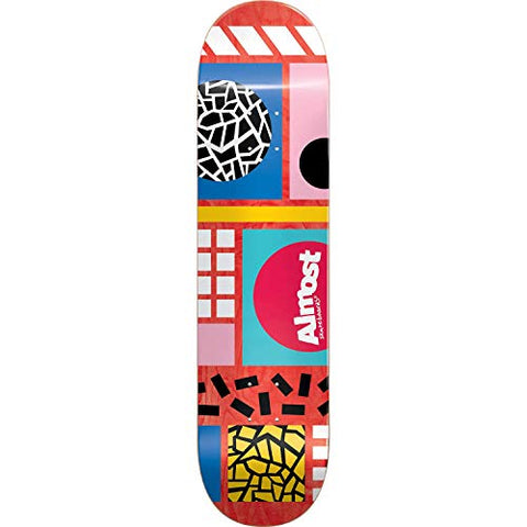 "8.5"" Almost New Wave Skate Deck"