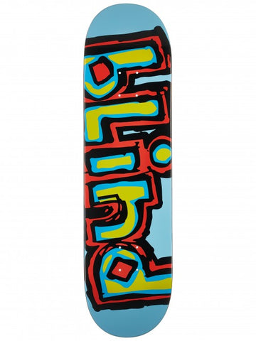 "8.37"" Blind OG Logo Light Blue Skate Skateboard Complete"