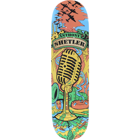 "8.1"" AIN Wartime The Voice Complete Skateboard"