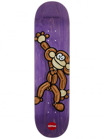 "8.12"" Almost Mullen Balloon Animals Skateboard Complete"
