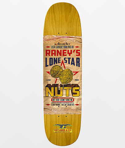 "8.63"" Anti-Hero Raney General Mercantile Skateboard"