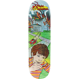 "8.5"" World Industries Kevin Fire Fighter Skate Deck"