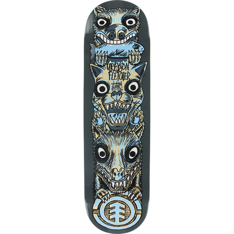 "8.5"" Element Fletcher Totem Skateboard Complete"