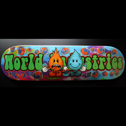 "8.25"" World Industries 'Pods' Skateboard Complete"