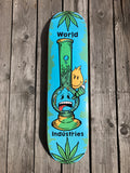 "8.0"" World Industries 'Bong' Skateboard Complete"