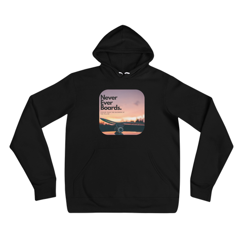 Never Ever Boards Super Comfy Hoodie