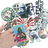 Star Wars Sticker Collection Set