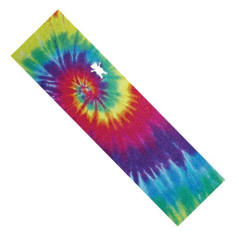Grizzly Tye-Dye Bear Cut-out Skateboard Grip Tape