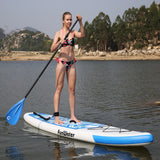 10'6 FunWater Inflatable Stand Up Paddle Board