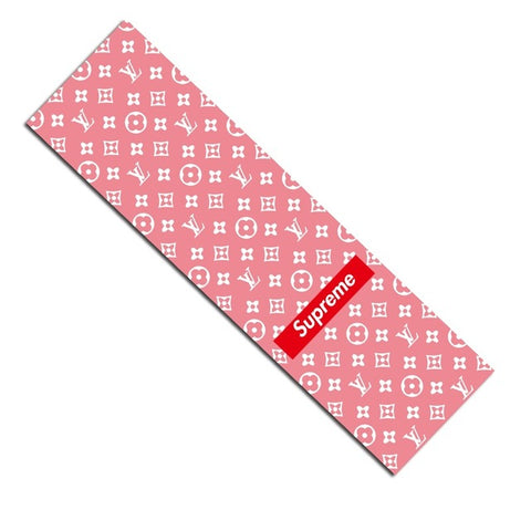 Supreme Pink Louis Vuitton Grip Tape