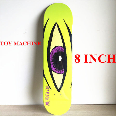 "8"" Purple Iris Toy Machine Deck"