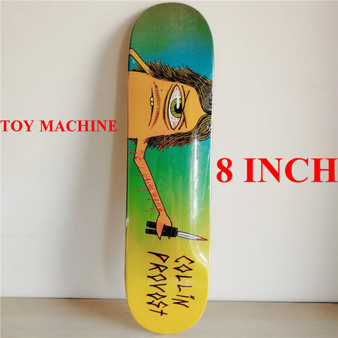 "8"" Collin Provost Cyclops Toy Machine Deck"