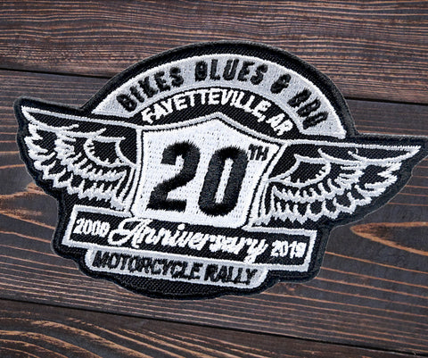 20th Anniversary Patch