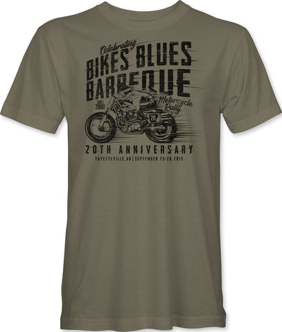 2019 Hog #2 Tee - Warm Grey