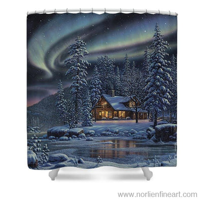 Aurora Bliss - Shower Curtain - 71 X 74 Standard - Shower Curtain