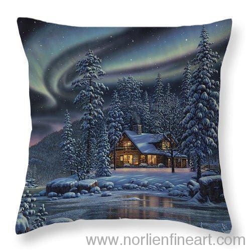 Aurora Bliss - Throw Pillow - 14 X 14 / Yes - Throw Pillow