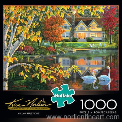 Autumn Reflections - 1000Pc Puzzle - Puzzles