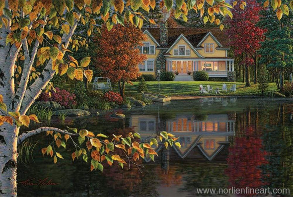 Autumn Reflections - Print - Art Prints