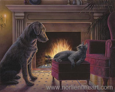 Fireside Chat - Original - Originals