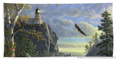 Guiding Light - Beach Towel - Beach Towel (32 X 64) - Beach Towel