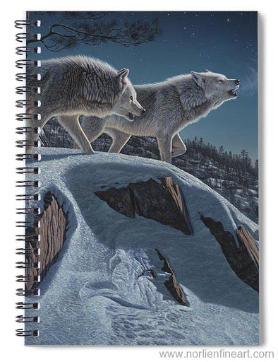 Moonlight Prowlers - Spiral Notebook - 6 X 8 - Spiral Notebook