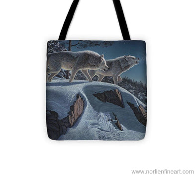 Moonlight Prowlers - Tote Bag - 13 X 13 - Tote Bag