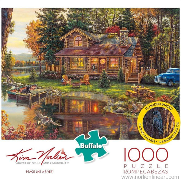 Peace Like A River - 1000Pc Puzzle - Puzzles