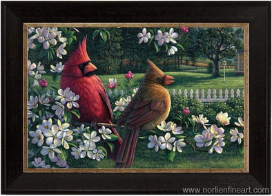 Spring Cardinals Mini - Miniatures