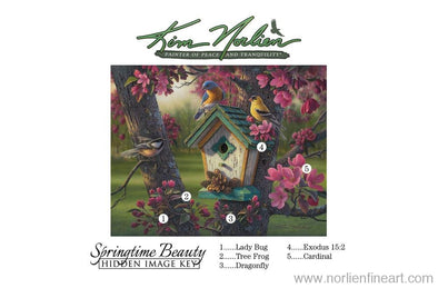 Springtime Beauty Key - Hidden Key