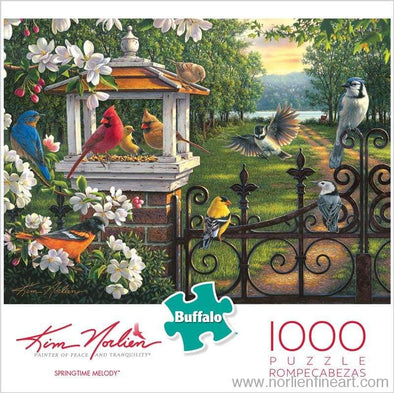 Springtime Melody 1000 Puzzle - Puzzles