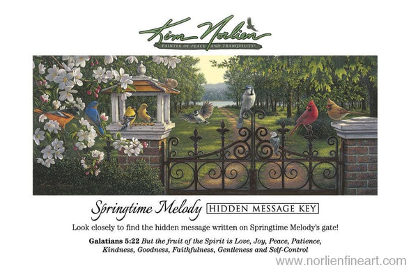 Springtime Melody Key - Hidden Key