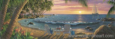 Summer Breeze - Canvas - 12 X 36 / Canvas / Unstretched - Canvas