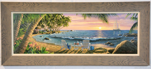 Summer Breeze (Large Acrylic) - Large Framed Art