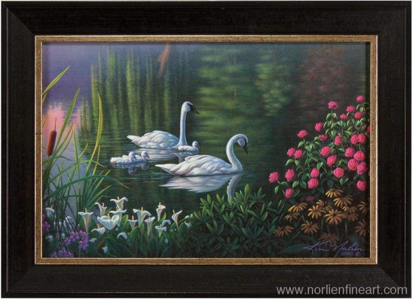 Swan Family Mini - Miniatures
