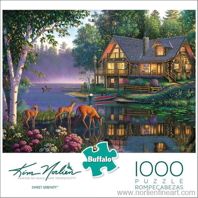 Sweet Serenity 1000 Puzzle - Puzzles