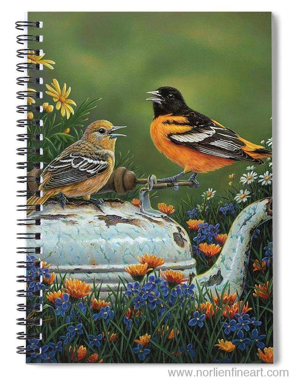 Tea Time - Spiral Notebook - 6 X 8 - Spiral Notebook