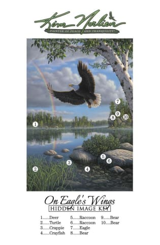 On Eagles Wings - Print