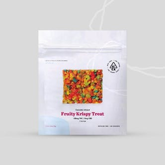 Fruity Krispy Treats 100mg