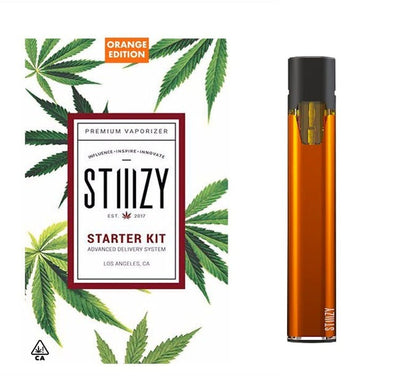 STIIIZY Battery Starter Kit - Orange, BATTERY, STIIIZY