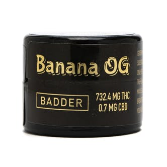 Banana OG Live Resin Badder (I)