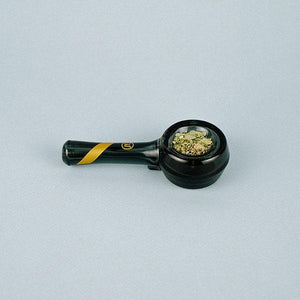 Smoked Glass Spoon Pipe, PIPES, Marley Natural