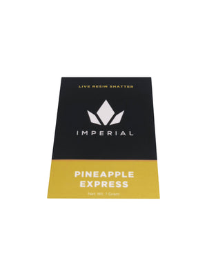Pineapple Express Live Resin Shatter (H)