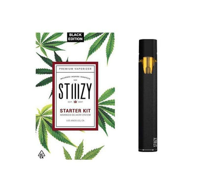 BATTERY - STIIIZY Battery Starter Kit - Black