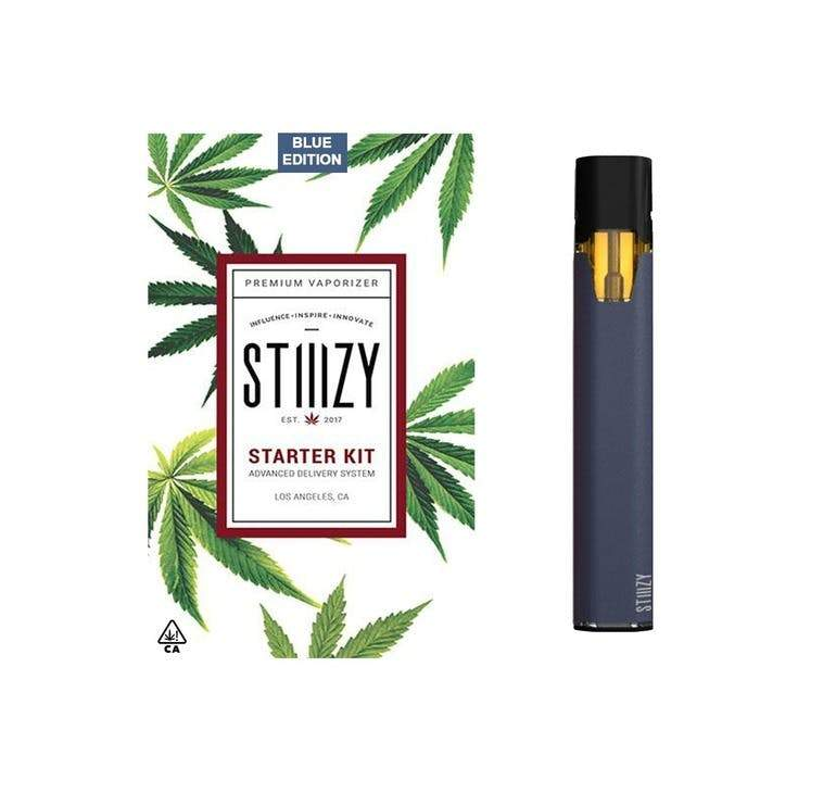BATTERY - STIIIZY Battery Starter Kit - Blue