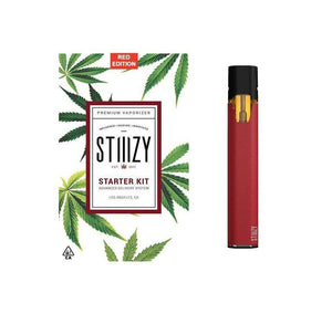 BATTERY - STIIIZY Battery Starter Kit - Red