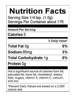 KC butt rub nutrition facts. Your Outdoor Store