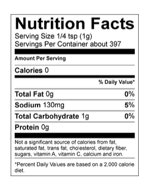 Lamberts Sweet Sauce O'Mine Nutritional Facts. Your Outdoor Store